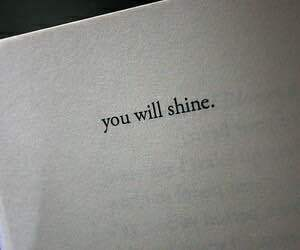 quote, book, and shine image