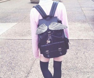 backpack, japan, and school image