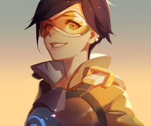 overwatch and anime image