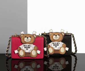 bags, chic, and Moschino image