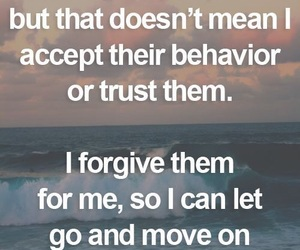 forgive, let go, and move on image