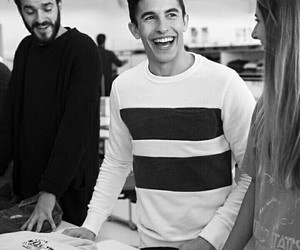 black and white, pull and bear, and marquez image