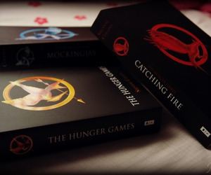 amazing, books, and the hunger games image
