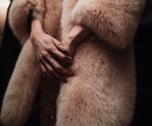 beautiful, beige, and furs image