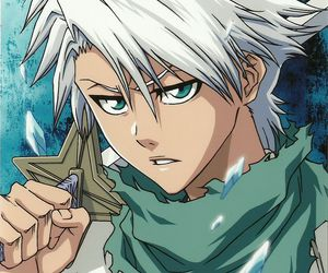 bleach, hitsugaya, and anime image