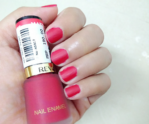 nail polish, nails, and matte nails image