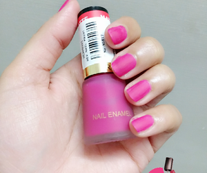 nail polish, matte nails, and revlon nail polish image