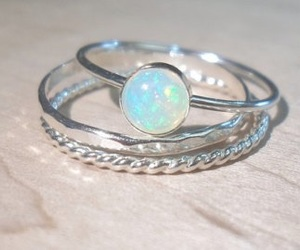 silver and opal image