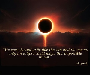 beauty, eclipse, and forbidden love image