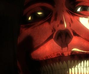 shingeki no kyojin, titan, and attack on titan image