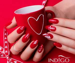 indigo, manicure, and nails image