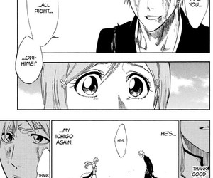 bleach, Ichigo, and Orihime image