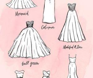 wedding, wedding dress, and girl image