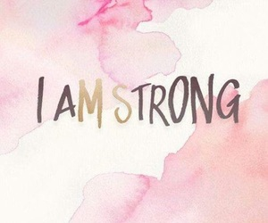 strong, wallpaper, and quotes image
