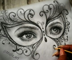 drawing and blanco y negro image