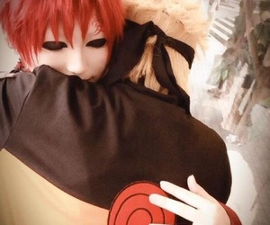 anime, cosplay, and red hair image