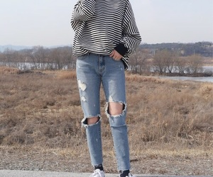 casual, fashion, and kstyle image