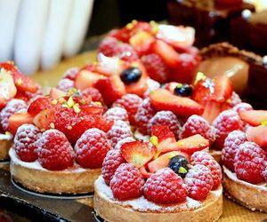 fruit, tarts, and paris image