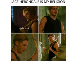 jace, jace wayland, and shadow hunters image