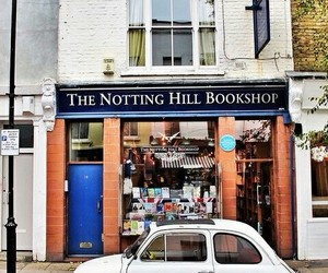 Notting Hill, car, and book image