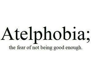fear, quotes, and atelphobia image