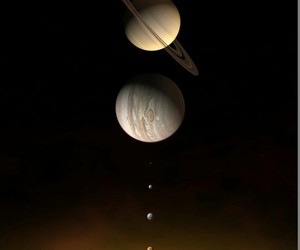 jupiter, Venus, and sol image