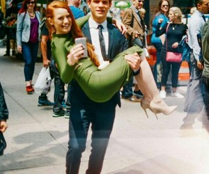 riverdale, madelaine petsch, and kj apa image