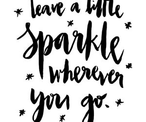 quotes and sparkle image