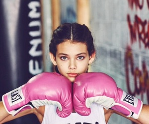 badass, beauty, and boxing image