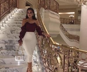 fashion, luxury, and gold image