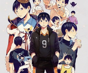 kageyama tobio and haikyuu!! image