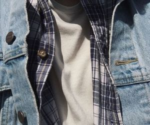 aesthetic, denim, and clothes image