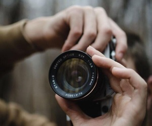 analog, boy, and camera image