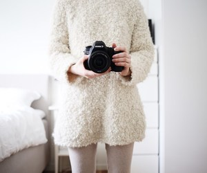 bedroom, blogger, and camera image