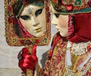 carnival, masks, and venezia image