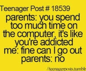 parents, teenager post, and computer image