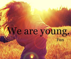 young, fun, and free image