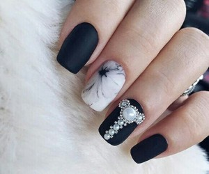 nails, beauty, and cute image