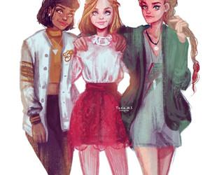 alex, clover, and Sam image