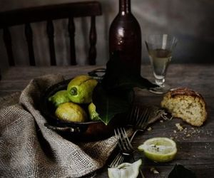 bread, food styling, and lime image