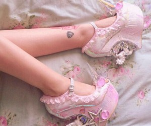 fashion, shoes, and kawaii image
