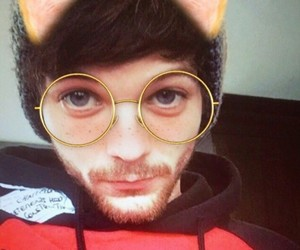 edits, 1d, and louis tomlinson image