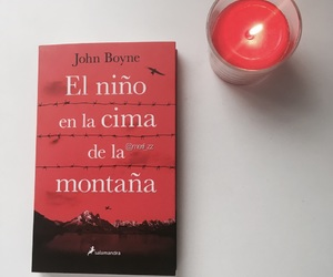 book, photo, and candle image