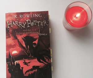 book, candle, and fan image