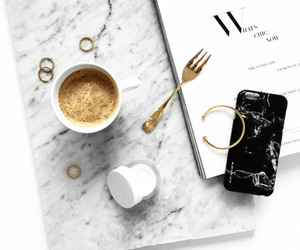 coffee, minimal, and phone image