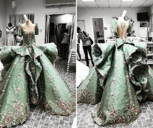 fashion, gown, and mak tumang image