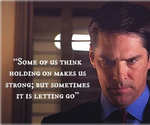 criminal minds, quote, and aaron hotchner image