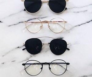 fashion, glasses, and sunglasses image