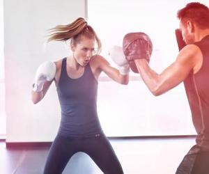 boxing, girl, and inspiration image