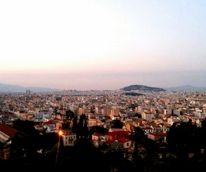sunset and athen image